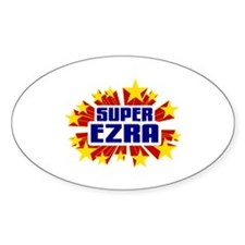 Ezra the Super Hero Decal