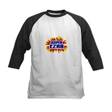 Ezra the Super Hero Baseball Jersey