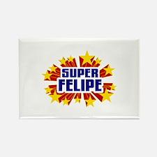 Felipe the Super Hero Rectangle Magnet