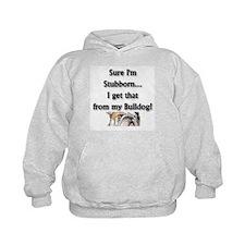 Bulldog gifts for women Kids Hoodie