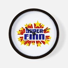 Finn the Super Hero Wall Clock