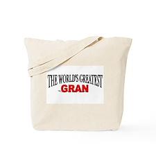 """The World's Greatest Gran"" Tote Bag"