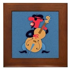 Bass Beat Framed Tile