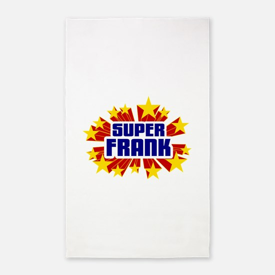 Frank the Super Hero 3'x5' Area Rug