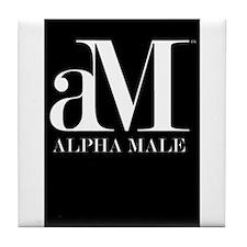 Alpha Male Tile Coaster