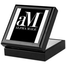 Alpha Male Keepsake Box