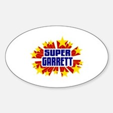 Garrett the Super Hero Decal