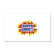 Garrett the Super Hero Car Magnet 20 x 12