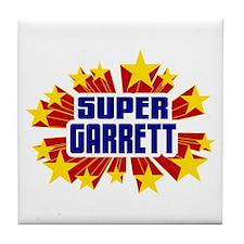 Garrett the Super Hero Tile Coaster
