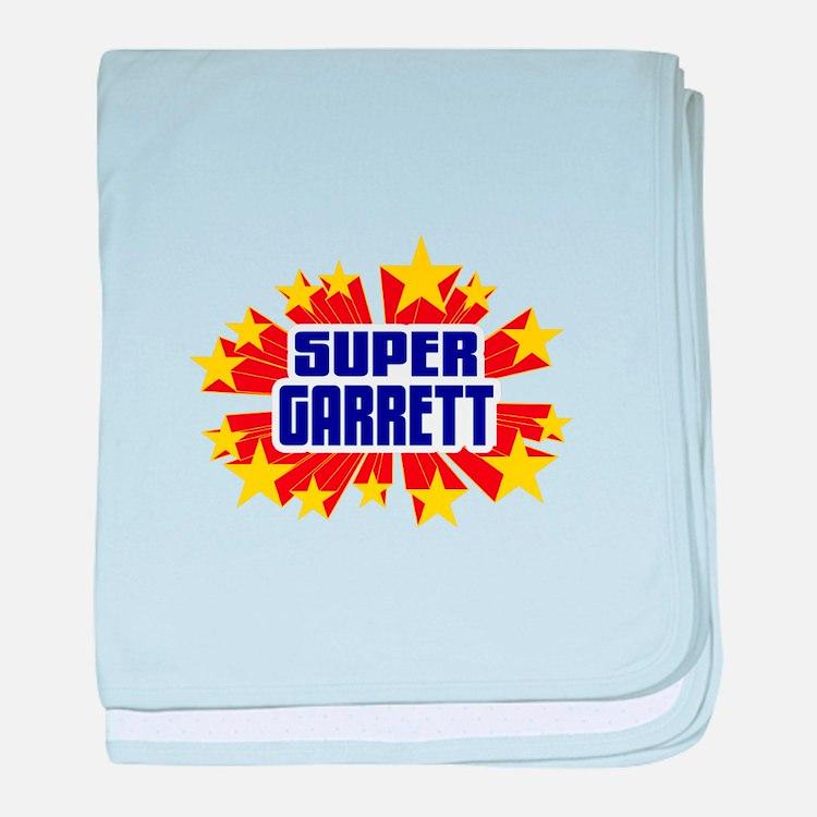 Garrett the Super Hero baby blanket