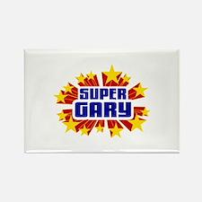 Gary the Super Hero Rectangle Magnet