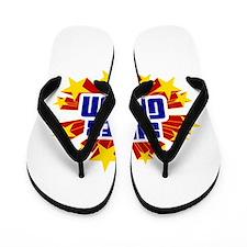 Gavyn the Super Hero Flip Flops