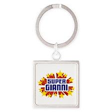 Gianni the Super Hero Keychains