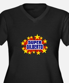 Gilberto the Super Hero Plus Size T-Shirt