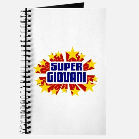 Giovani the Super Hero Journal
