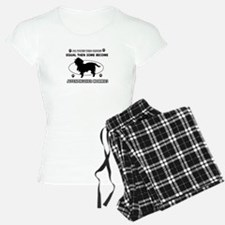 Funny Affenpinscher dog mommy designs Pajamas