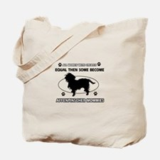 Funny Affenpinscher dog mommy designs Tote Bag