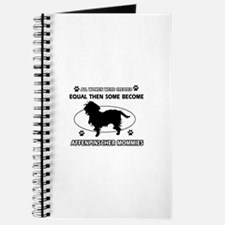 Funny Affenpinscher dog mommy designs Journal