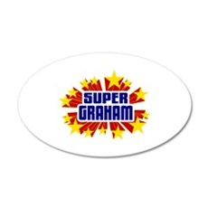 Graham the Super Hero Wall Decal