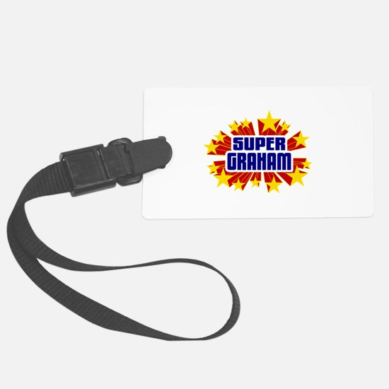 Graham the Super Hero Luggage Tag