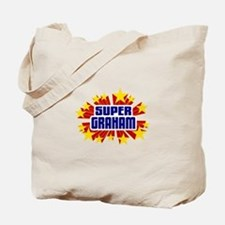 Graham the Super Hero Tote Bag
