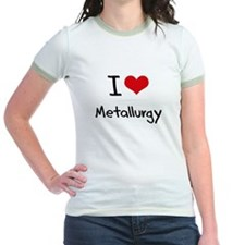 I Love Metallurgy T-Shirt