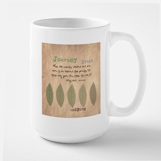 Retired Teacher Quote Aristotle Mug