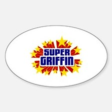 Griffin the Super Hero Decal