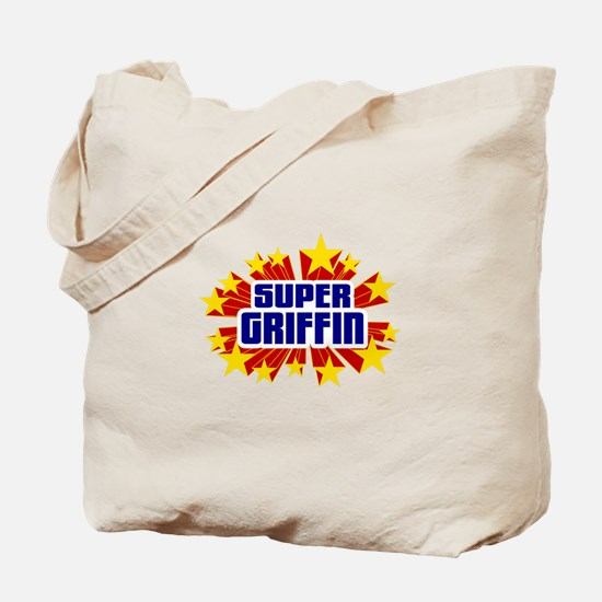 Griffin the Super Hero Tote Bag