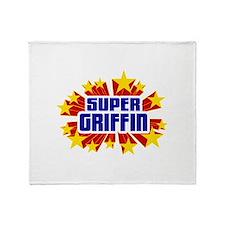 Griffin the Super Hero Throw Blanket