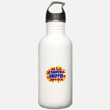 Griffin the Super Hero Water Bottle