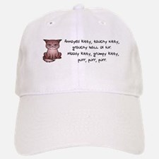 Grouchy Kitty Baseball Baseball Baseball Cap