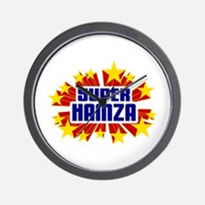 Hamza the Super Hero Wall Clock