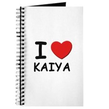I love Kaiya Journal