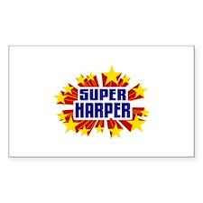 Harper the Super Hero Decal