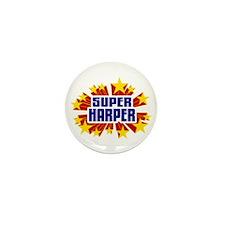 Harper the Super Hero Mini Button (10 pack)