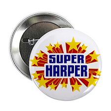 """Harper the Super Hero 2.25"""" Button"""