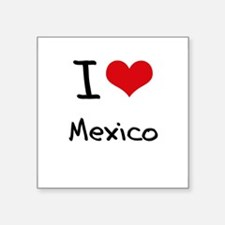 I Love Mexico Sticker