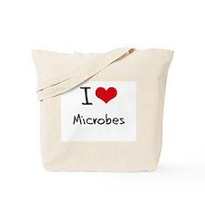 I Love Microbes Tote Bag