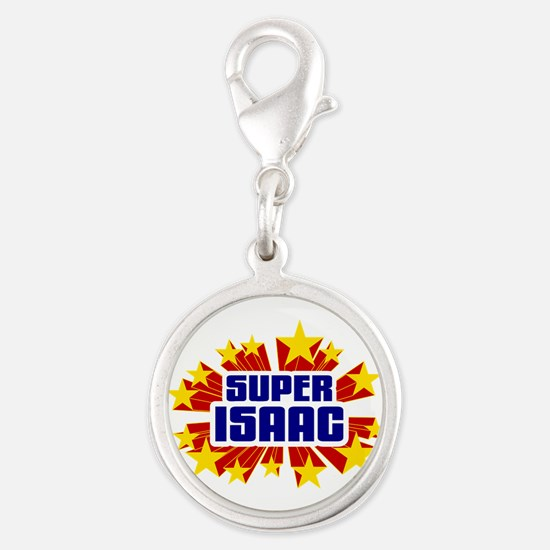 Isaac the Super Hero Charms