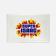 Isaac the Super Hero Rectangle Magnet