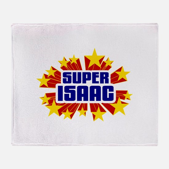 Isaac the Super Hero Throw Blanket