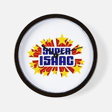 Isaac the Super Hero Wall Clock
