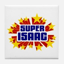Isaac the Super Hero Tile Coaster