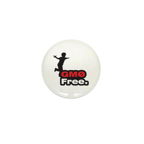 GMO Free - Mini Button (10 pack)