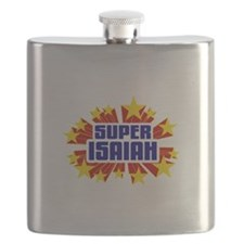 Isaiah the Super Hero Flask