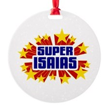 Isaias the Super Hero Ornament