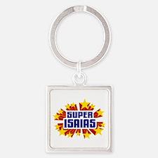 Isaias the Super Hero Keychains
