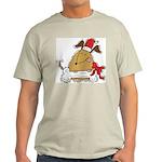 Funny Christmas Dog Ash Grey T-Shirt