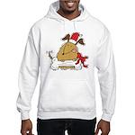 Funny Christmas Dog Hooded Sweatshirt